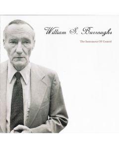 WILLIAM S. BURROUGHS - 0604wb - Italy - Archivio Letterario - CD - The Instrument Of Control