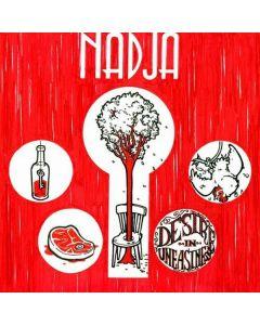 NADJA - CBR65 - USA - Crucial Blast Records - CD - Desire In Uneasiness