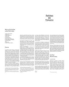 MARCUS SCHMICKLER/JULIAN ROHRHUBER - eMego 191 - Austria - editionsMEGO - CD - Politiken Der Frequenz