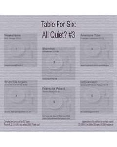 Table For Six - EE15 - Belgium - EE Tapes - #3 - All Quiet?