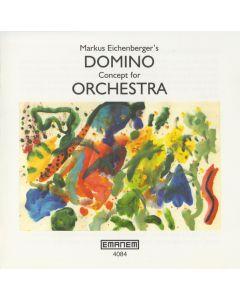 MARKUS EICHENBERGER - Emanem 4084 - UK - Emanem - CD - Domino Concept for Orchestra