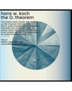 hans w. koch - 785.07 - Germany - Edition Telemark - LP - the O. theorem