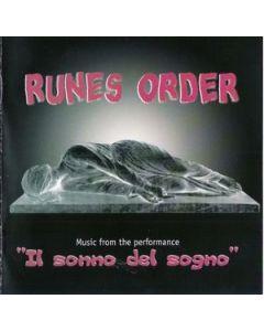 RUNES ORDER - GB 01/CD - Italy - Fragole Records - CD - Il Sonno Del Sogno