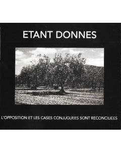 ETANT DONNES