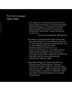 THE OVAL LANGUAGE