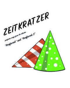 ZEITKRATZER - KR035 - Germany - Karlrecords - LP - Performs Songs From Kraftwerk  +  Kraftwerk 2""