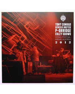 TONY CONRAD/GENESIS BREYER P-ORRIDGE/EDLEY ODOWD - OELP 017 - Italy - Old Europa Cafe - LP - &#8206 -  Live