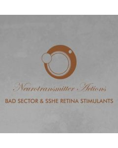 BAD SECTOR & SSHE RETINA STIMULANTS - PAS 37 - Germany - Power And Steel - CD - Neurotransmitter Actions
