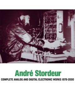 ANDRÉ STORDEUR - SR395 - Belgium - Sub Rosa - 3xCD - Complete Analog and Digital... 1978-2000
