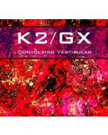 K2/GX - 4iB CD1213005 - Singapore - 4iB Records - CD - Convulsing Vestibular
