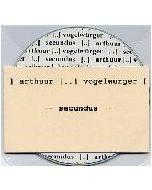 ") arthuur (..) vogelwürger ( - GaO 006 - Germany - Gewalt am Objekt - 3""CD-R - secundus"